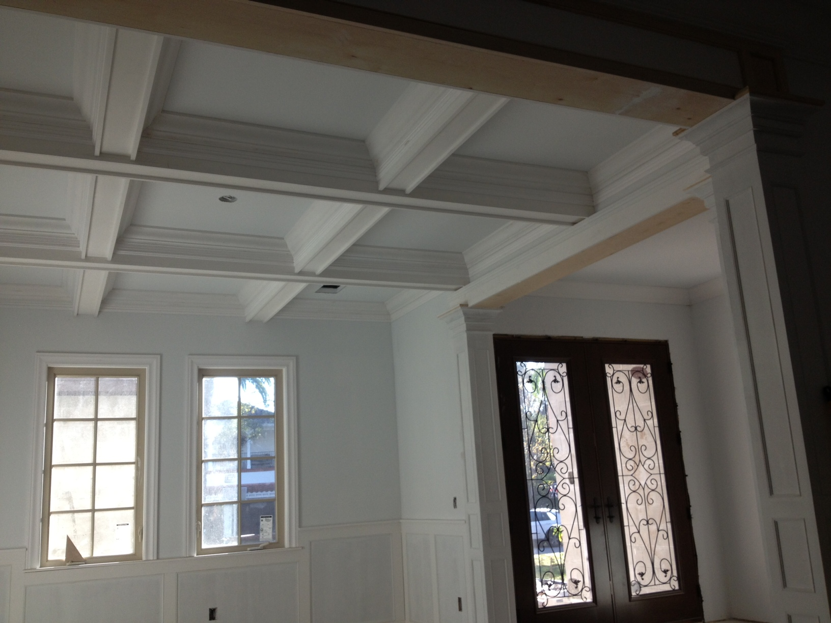 Beam Ceiling Gloger Construction