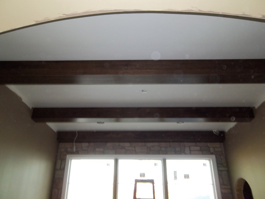 Stain Grade Beams Gloger Construction